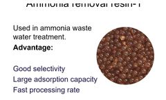 Ammonia and nitrogen removal resin-QingYun IEX resin - Video