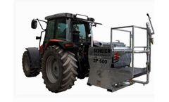 SCHEIER - Model 3P 600 - Hydroseeder