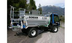 SCHEIER - Model A 2500 - Hydroseeder