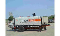 SP80.16.110E Trailer Mounted Concrete Pump