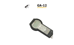 Madur - Model GA-12 - Hand-Held Gas Analyser - Brochure