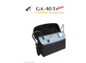 Madur - Model GA-40Tplus - Gas Analyzer with Built-in Sample Conditioner Brochure