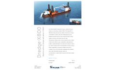 FKAB/HollandMT - Model X800 - Backhoe Pontoon Dredger Brochure