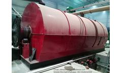 DOING - Model DY-12 - Highly quality oily sludge pyrolysis plant to get clean fuel oil