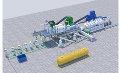 DOING - Model 20TPD/30TPD/50TPD/80TPD/100TPD - Fully continuous waste tire to fuel oil plant with advanced pyrolysis technology