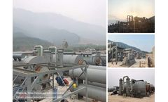 6 Sets 12TPD Waste Tire To Oil Recycling Plant Project In China