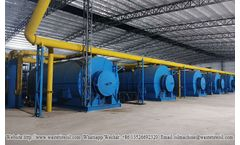 Continuous waste plastic pyrolysis plant with environment friendly equipment