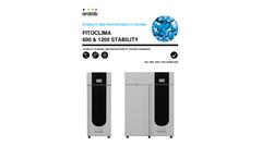 Aralab - PhotoStability Testing Chamber Brochure