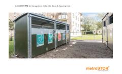 metroSTOR - Model PBL - 140L - 360L - Bin Storage Units Brochure