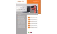 metroSTOR - Model QF - Fire Rated Bin Store Brochure