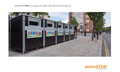 metroSTOR - Model 660L-1280L - Bin Storage Units Brochure