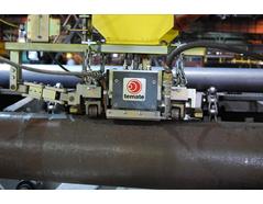 thickness measurement hot tube EMAT