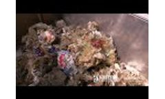 Separating food from packaging - Organic Liquefying Press Video
