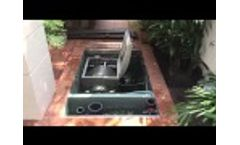 Blue Eco RDF flooded pit installation Video