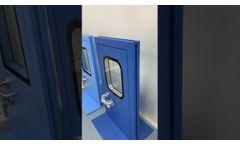 Samples - Clean Room Steel Doors & Windows Video