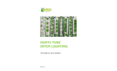 Horti-Tube - Model HL08-40 - LED Interior Lighting  Brochure