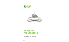 Horti-Hot - UFO Shape LED Grow Light Brochure