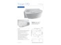 Aquator Tizian - Model 170 - Medical Bath