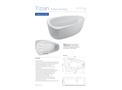 Aquator Tizian - Freestanding Medical Bath