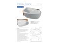 Aquator Tizian - Block Medical Bath
