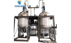 Solvent Extraction Technology Recycled Diesel/Base Oil Water White Color Deodorize Decoloration Machine