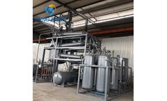 Model YJ-DSL Series - Pyrolysis Tire Oil Waste Engine Oil into Diesel Fuel Refinery System