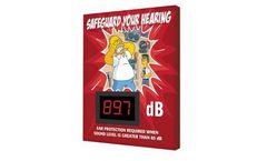Simpsons - Model SCS674 - Decibel Meter Safety Sign