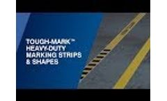 Tough-Mark Heavy-Duty Floor Marking Strips and Shapes Video