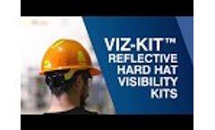 Viz-Kit Reflective Hard Hat Visibility Kits Video