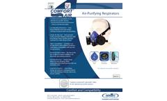 Silicone Comfort-Air - Model Series 100 - Respirators Brochure