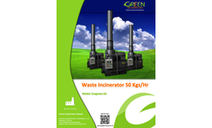 Ecogreen - Model 50 - Waste Incinerator Brochure