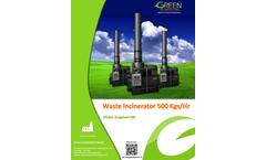 Ecogreen - Model 500 - Waste Incinerator Brochure