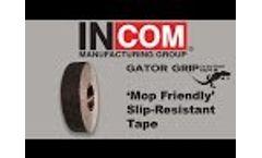 Mop Friendly` Slip-Resistant Tape Video