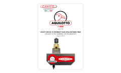 Aquilotto - Model FC8 - 2 V 1 Side Poplar Electrical Photocell Device Manual