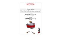 Dupiget Precision - Model DUPI/P - 12 V Electrical Sprayer Manual