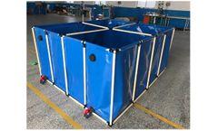 Veniceton - Model F01 - 2000L Aquaculture Tank and 5000L Customized Flexiable Rectangle Frame Fish Tank for Fish Farm