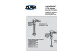 Aquaflush Exposed Sensor ZER6000-CP Series- Brochure