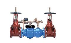Zurn - Model 350DA - Double Check Detector Backflow Preventer