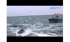 ASV Small unmanned security and surveillance system Video