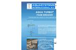 Model FB - Foam Breaker Brochure