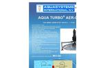 Model AER-GS - Fixed Low Speed Bottom Aerator/Mixer Brochure