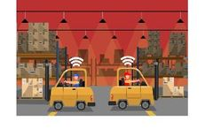 RFID & RTLS Technologies for Manufacturing - Forklift Tracking