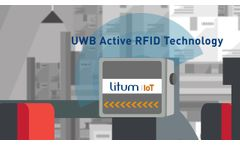 Forklift Tracking & Collision Avoidance RTLS system | Litum IoT - Video