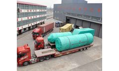 China ZJN waste-to-energy rotary drum dryer, sludges dryer and biosolids dryer