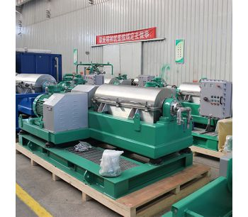 GN - Model GNLW - Decanter Centrifuge for solids and liquid separation