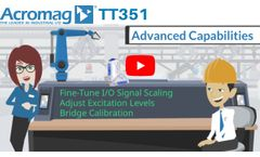 What is a Strain Gauge Input, Four-Wire Transmitter? | Acromag TT351 Video