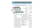 Acromag 611T / 612T - Single or Dual Channel Transmitters Data Sheet