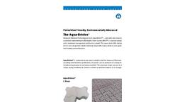 Aqua-Bricloc - Versatile New Shape - Brochure