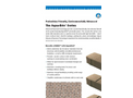 Aqua-Bric - Type 4 – Shapes – Brochure