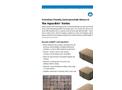Aqua-Bric - Ashlar – Shapes – Brochure